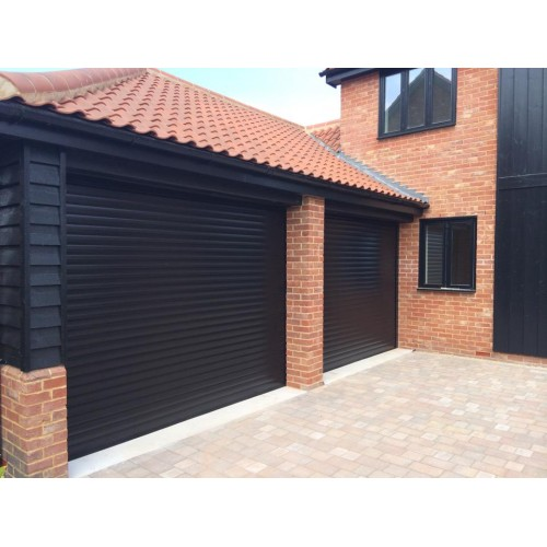 Black RAL 9011   DIY Roller Shutter Garage Door ...