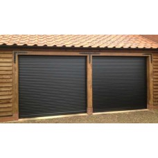 Dark Brown RAL 8019 - DIY Roller Shutter Garage Door