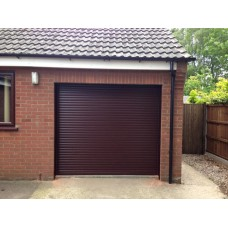 Rosewood - Installed Roller Shutter Garage Door