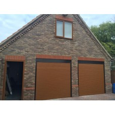 Golden Oak - DIY Roller Shutter Garage Door
